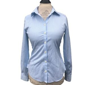 BR Non Iron Fitted Button Down Size 2   GG3